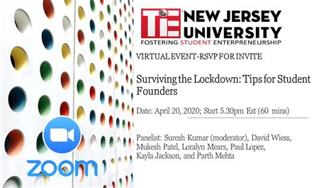 Past Events – TiE NJ | The World's Largest Network For