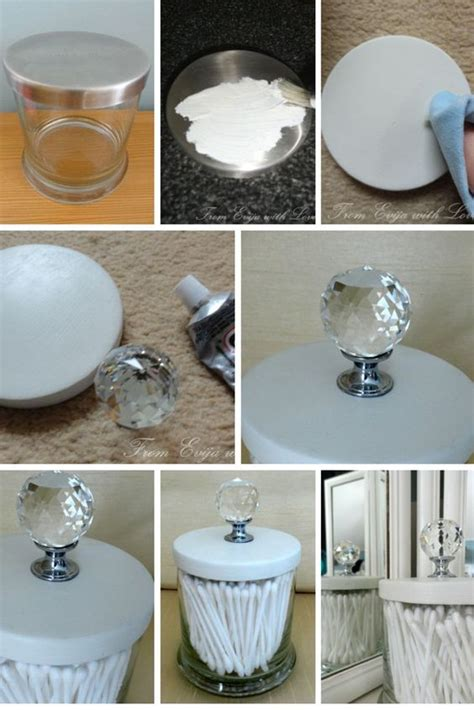 10 DIY Ideas & Tutorials to Repurpose Your Old Candle Jars