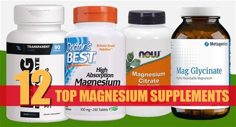 12 Best Magnesium Supplements Reviewed In 2021 – Fitness Volt