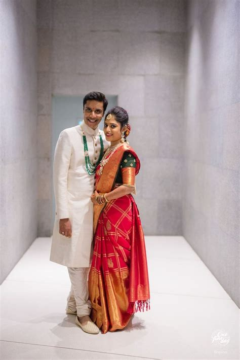 Marathi Couple - Xpensive   Couples in 2019   Saree