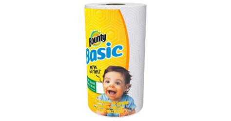 Bounty Basic Paper Towels at Family Dollar for $0