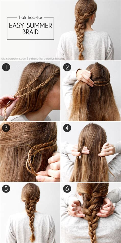 DIY Easy Summer Braid Pictures, Photos, and Images for