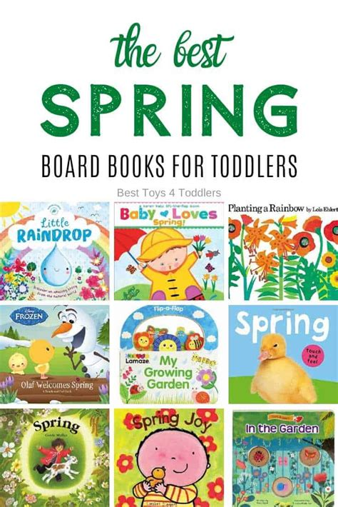 The Best Spring Board Books for Toddlers to Read Aloud
