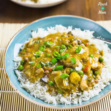 Low Syn Chinese Chicken Curry   Slimming World - Pinch Of Nom