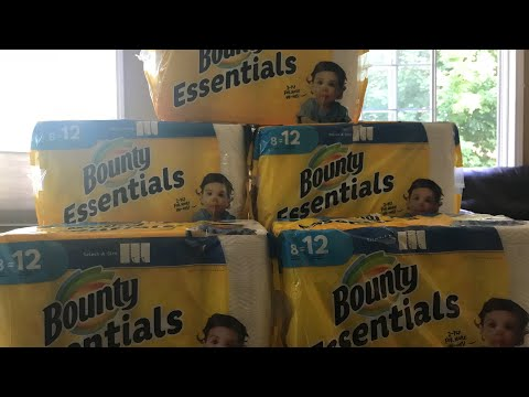 Bounty Basic 12-Pack Paper Towels Only $5