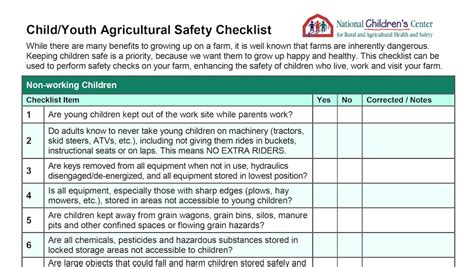 Checklist can keep children safer on farms - Farm and Dairy