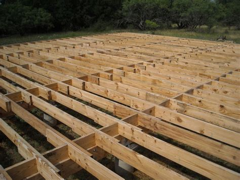 Suspended and Solid Flooring and Joists