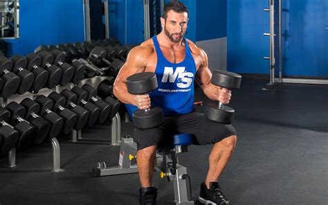 Intense Superset Chest & Biceps Workout With Joe Donnelly