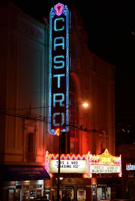 In the Castro theater, Sylvia gets lost and found