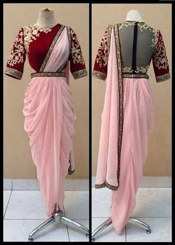 Beautiful Dhoti Sarees That Can Never Go Out Of Fashion