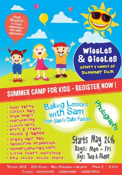 13+ Summer Camp Flyer Templates to Download | Sample Templates