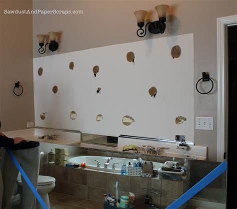 How to Remove Builder Mirrors - Sawdust Girl®