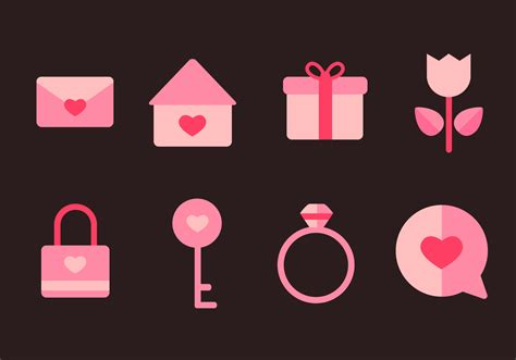 Free Love Icons Vector - Download Free Vectors, Clipart