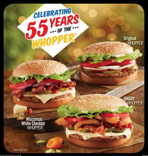 Whopper's 55th Anniversary: Burger King Celebrates With 3