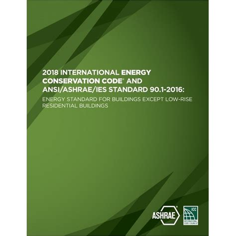 2018 International Energy Conservation Code and ANSI