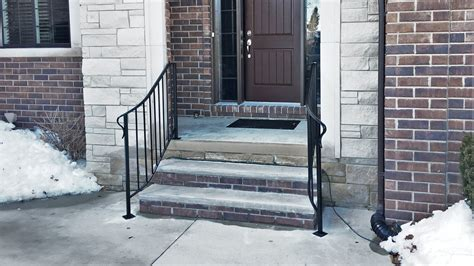 Curved Wrought Iron Porch Rail - Great Lakes Metal Fabrication
