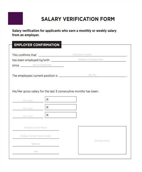FREE 37+ Verification Forms in PDF