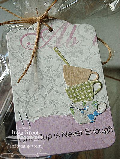 Always Time For Tea! - Patterned Paper