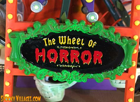 Review – Lemax Wheel of Horror – SpookyVillages