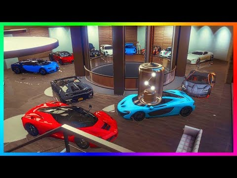 GTA Online: Purchasing a 200k Luxury Apartment with 10 car