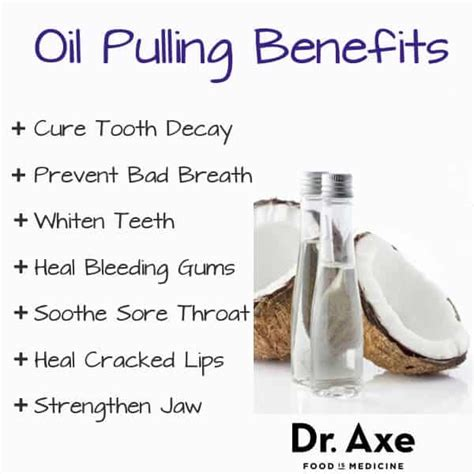 Oil Pulling Benefits Whiter Teeth and Better Breath - DrAxe