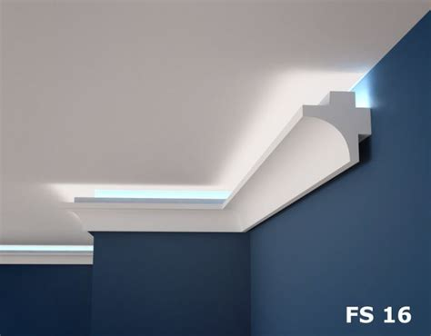 XPS COVING LED Lighting cornice - BFS16 in 2020 | Ceiling