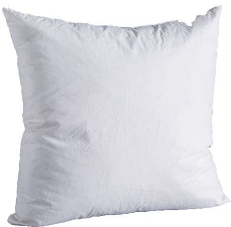 Natural Down-Filled Square Decorative Pillow Insert