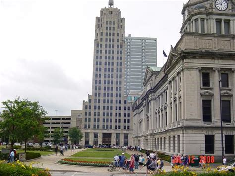 Fort Wayne, IN : Fort Wayne Downtown 2008 photo, picture