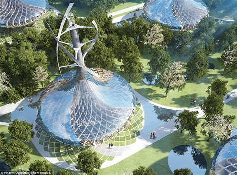 Is this the city of the future? Incredible artist's