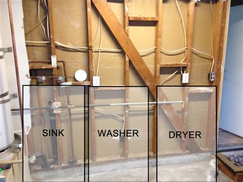 Help: Adding new Utility Sink and Washer Waste Wipe