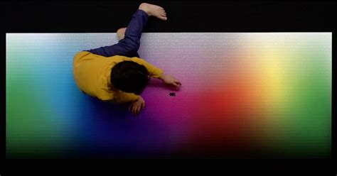 A Giant New 5,000-piece CMYK Color Gamut Jigsaw Puzzle by
