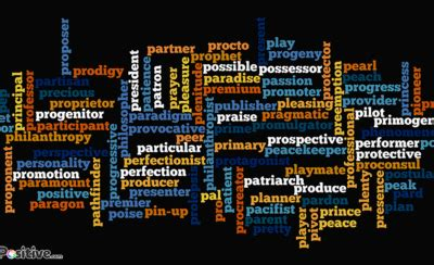 """Positive Language and Words Blog """"Learn Uplifting Words"""