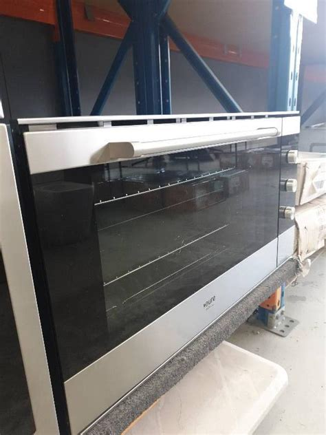 EX DISPLAY EURO 900MM ELECTRIC OVEN EV900MSX FAN FORCED