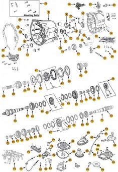 Aisin AX15 Transmission Exploded View Diagram Found in