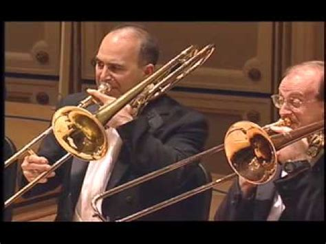 CSO Low Brass Section plays Orchestral Excerpts and Con