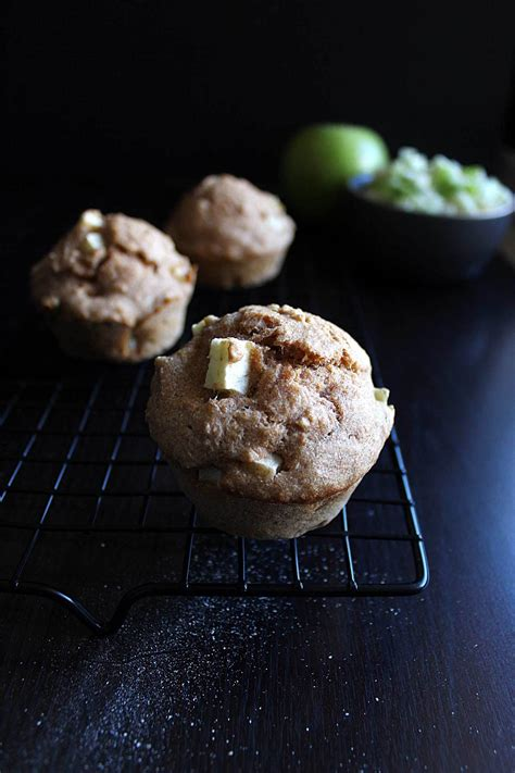 happy birthday, Darwin! apple pupcakes with peanut butter