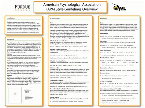 APA Formatting and Style Guide, In-Text Citations, Refere