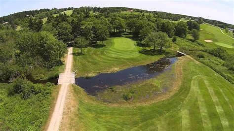 4th Hole - Clare Golf And Country Club - Fly Over - Summer