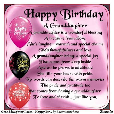 Birthday Wishes for Granddaughter | Nicewishes