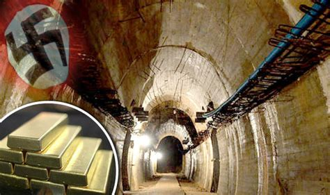 Nazi gold train tunnel DOES exist - New radar images of