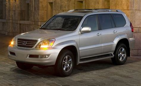 2008 Lexus GX 470 4WD 4dr   Features and Specs   Car and