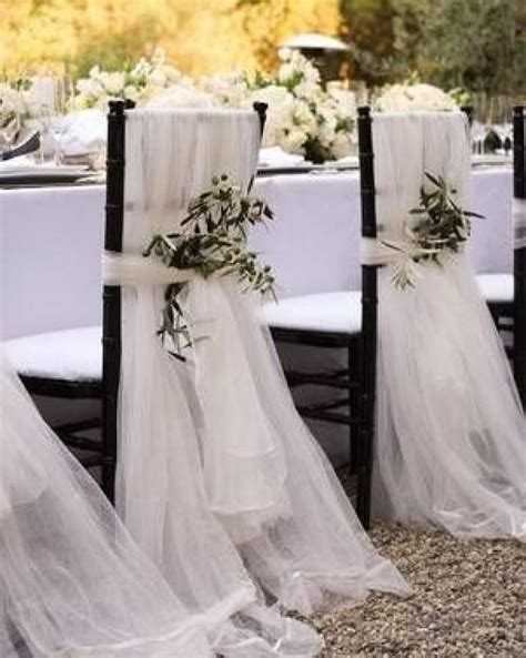 CHAIR COVER TULLE CHAIR COVERS - CHAIR COVER #2366372