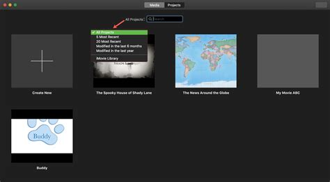 How to manage Projects in iMovie on Mac and iOS