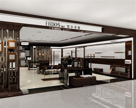 GR21 Modern Luxury Store Clothes Display Design_Guangzhou