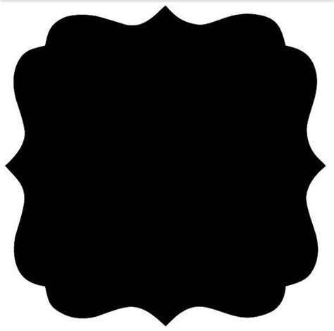 clipart banner shapes - Clipground